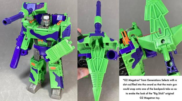 G2 Megatron Mod
