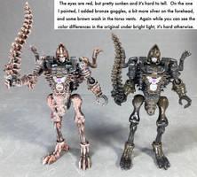Kingdom Vertebreak touchup robot mode