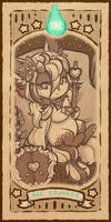 Berry-Bazaar Tarot: Major Arcana 03 by LizzyJun