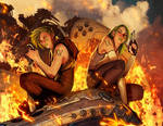 Aphrodite IX #6 covers