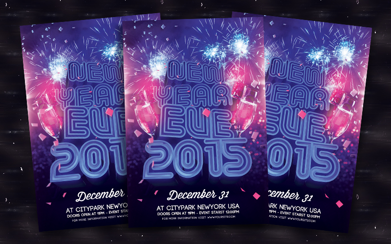 New Year Eve 2015 by bl4ckocreation