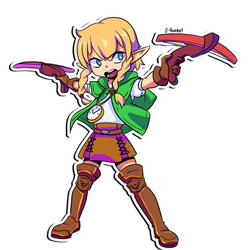 Patreon Stickers - Linkle by OppaiHobby