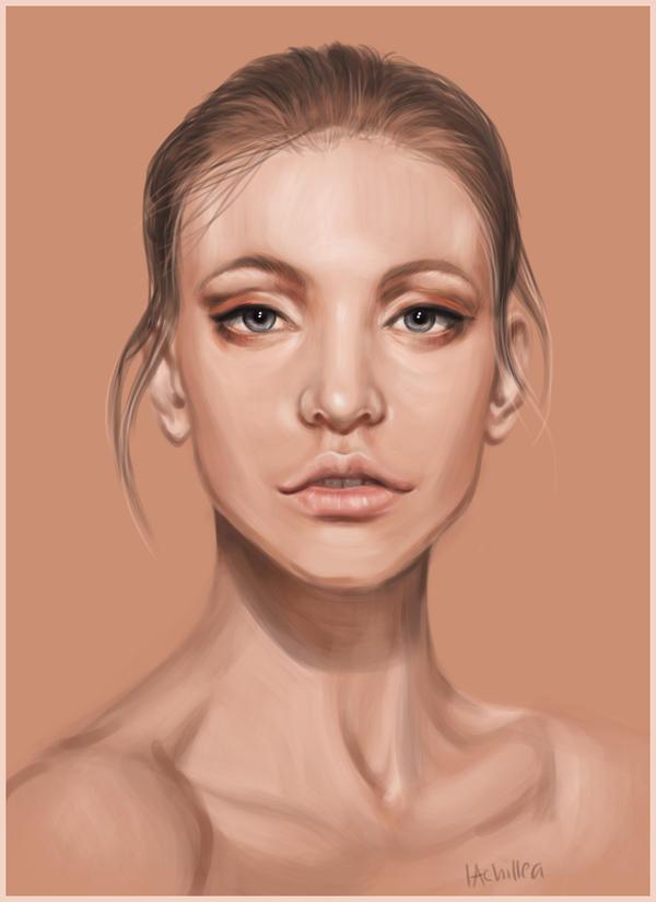 Portrait Study I by lAchillea