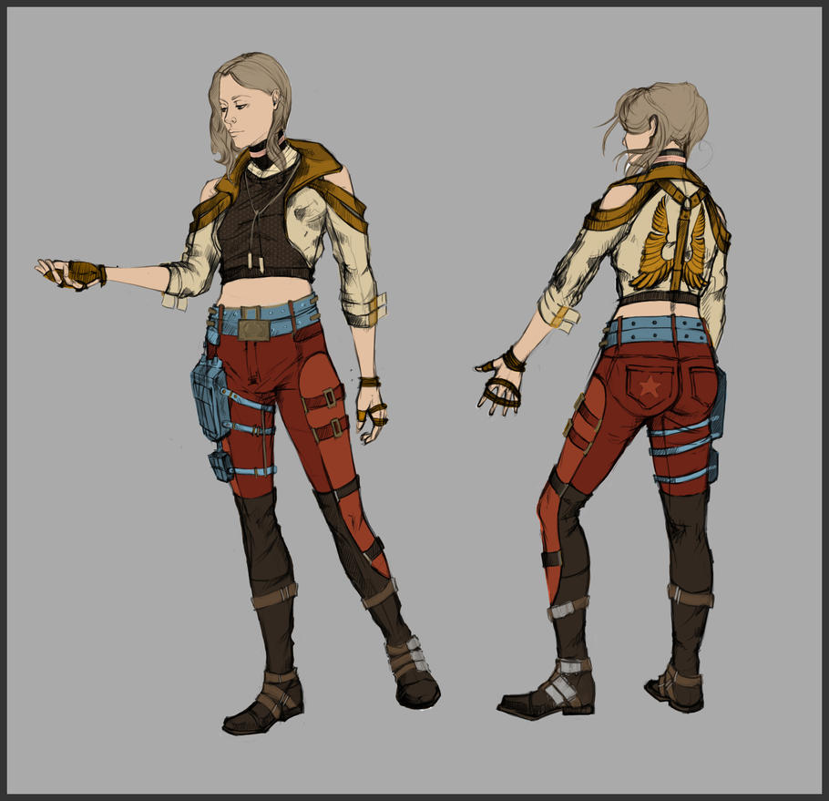 Character No2 Concept by lAchillea