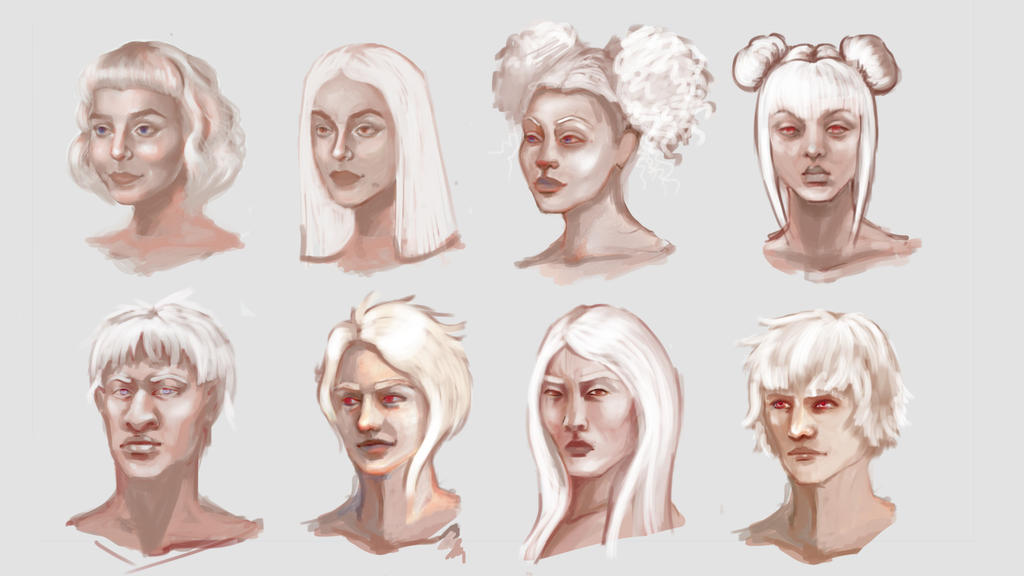 Albinos by lAchillea