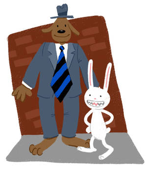 Sam and Max doodle