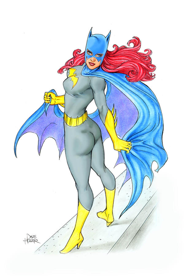 Batgirl Out On a Ledge by Tarzman
