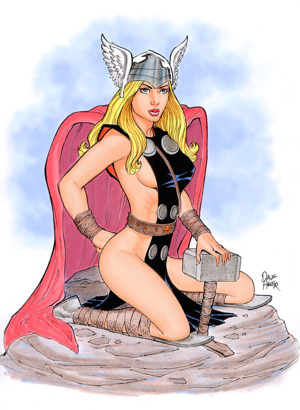 She-Thor by Tarzman