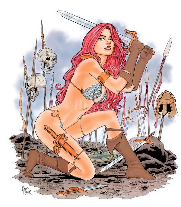 Battlefield Sonja by Tarzman
