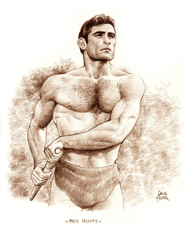 Mike Henry as Tarzan by Tarzman