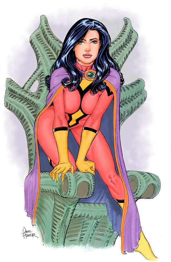Spiderwoman Queen by Tarzman