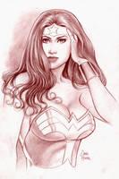 Wonder Woman Sketch by Tarzman