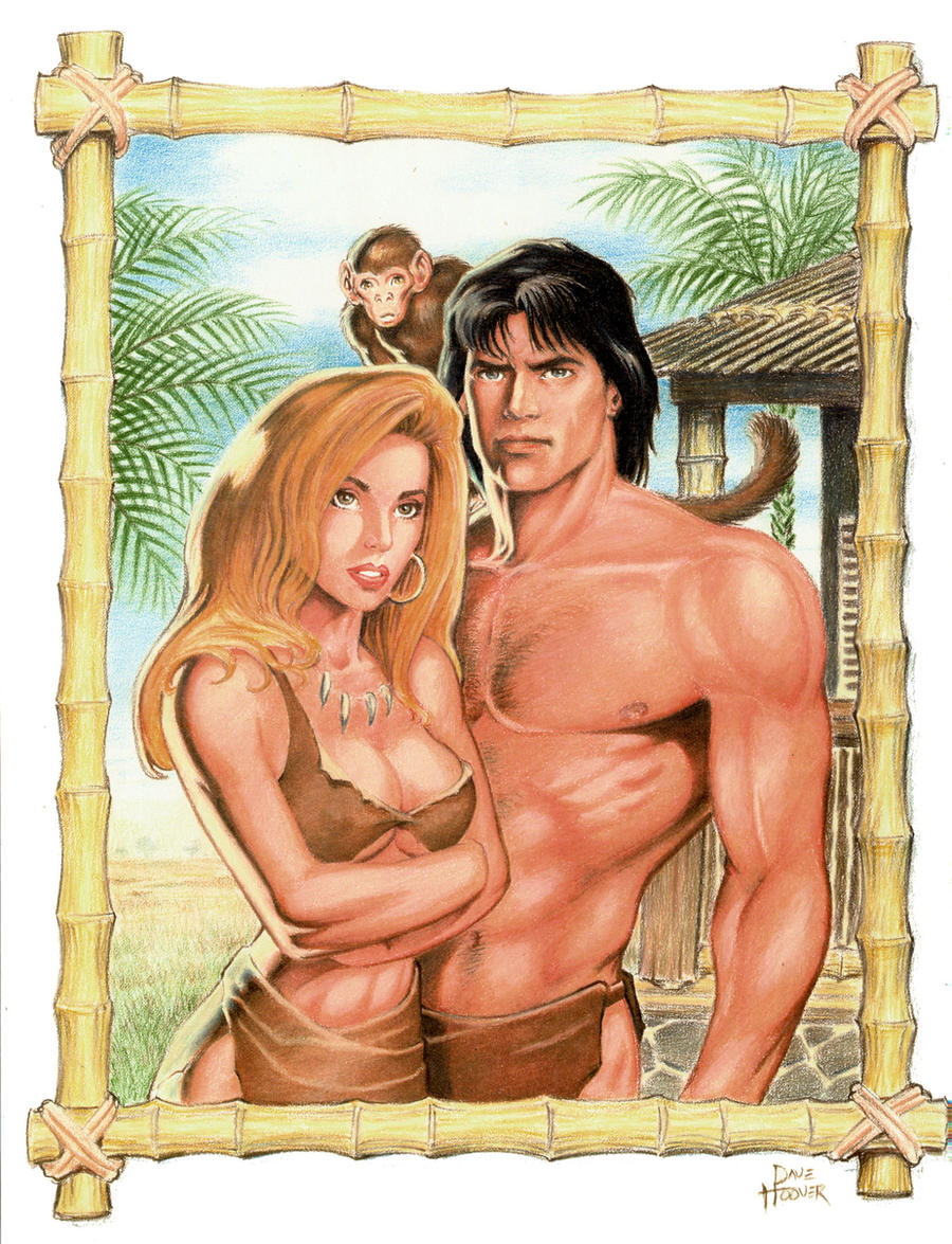 Tarzan, Jane and Friend by ~Tarzman