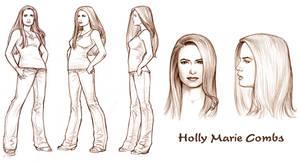 Holly Model Sheet