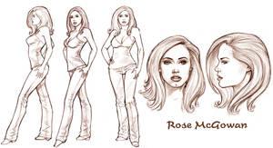 Rose Model Sheet