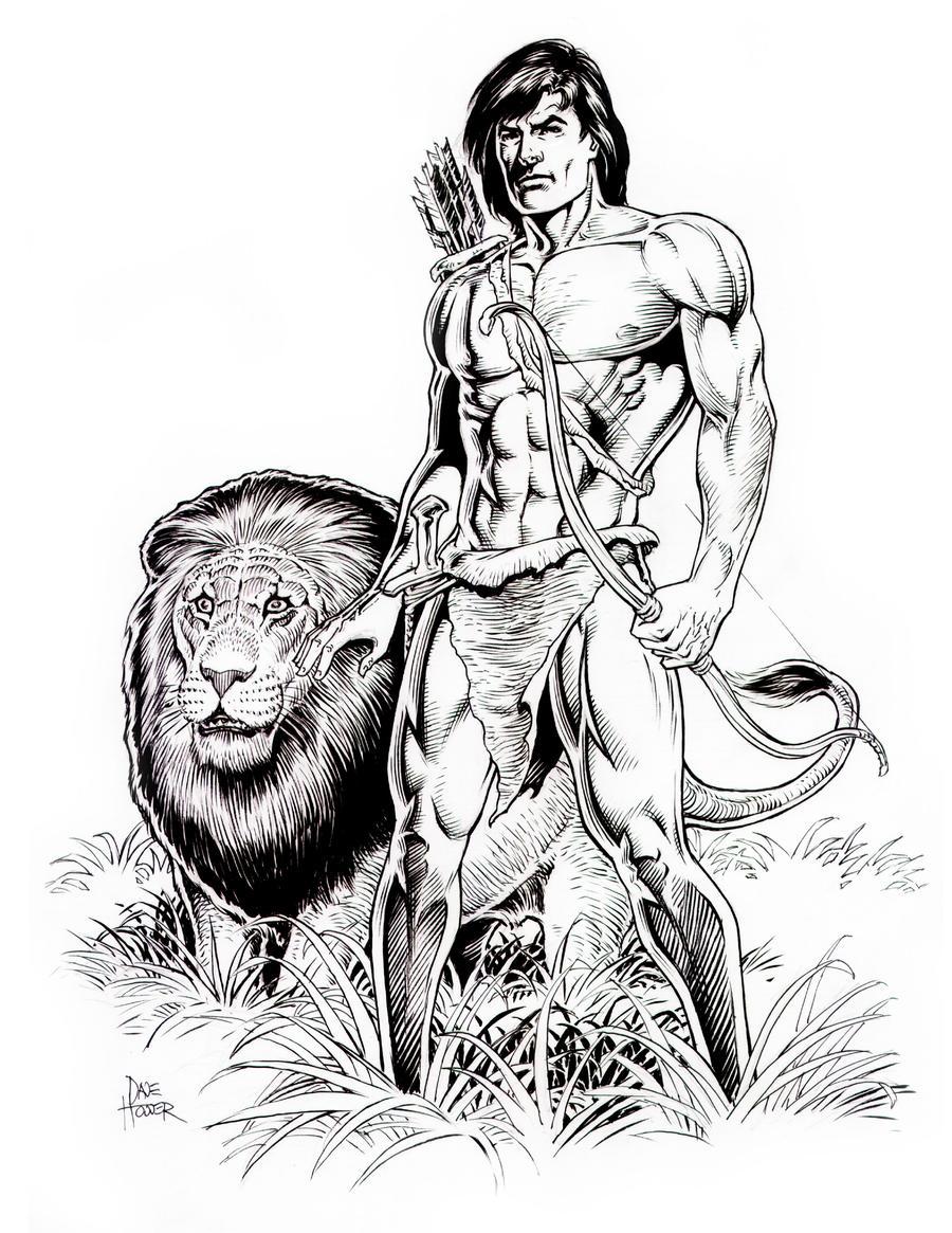 Uncategorized Tarzan Drawing tarzan and friend by tarzman on deviantart tarzman