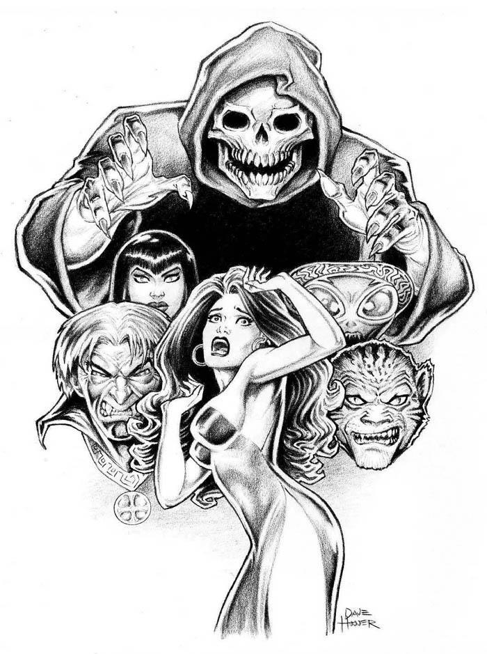 Scary Stuff by Tarzman