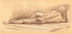 Nude On Dock