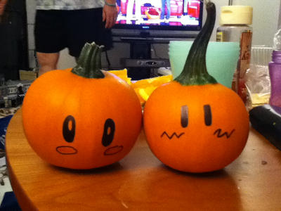 Pumpkins by comic-o-cafe