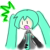 Hatsune Miku face 3 (free use)
