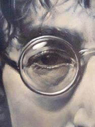John Lennon detail