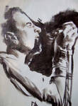 Joe Strummer sketch 3