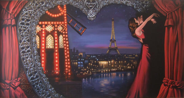 Moulin Rouge Mural