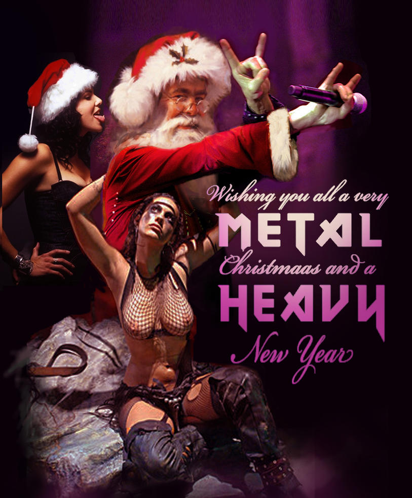 heavy metal christmas by spoof or not spoof - Heavy Metal Christmas