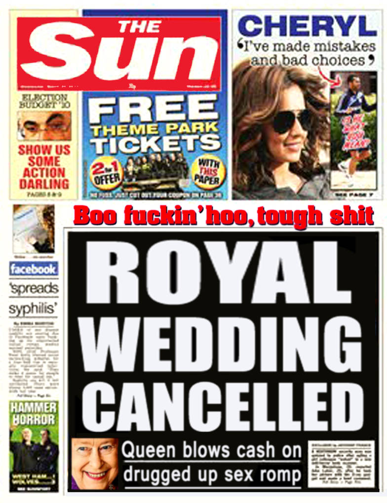 Royal Wedding Cancelled.Royal Wedding Cancelled By Spoof Or Not Spoof On Deviantart