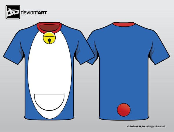 deWear: Doraemon by riseki