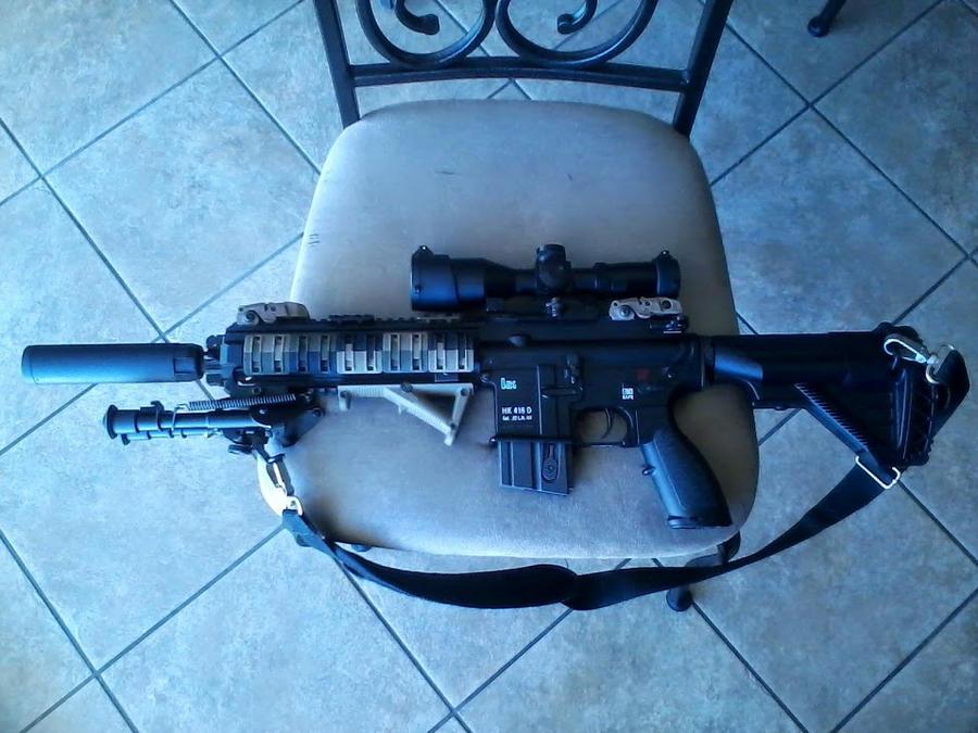Custom HK 416 22lr by Nova3712 on DeviantArt
