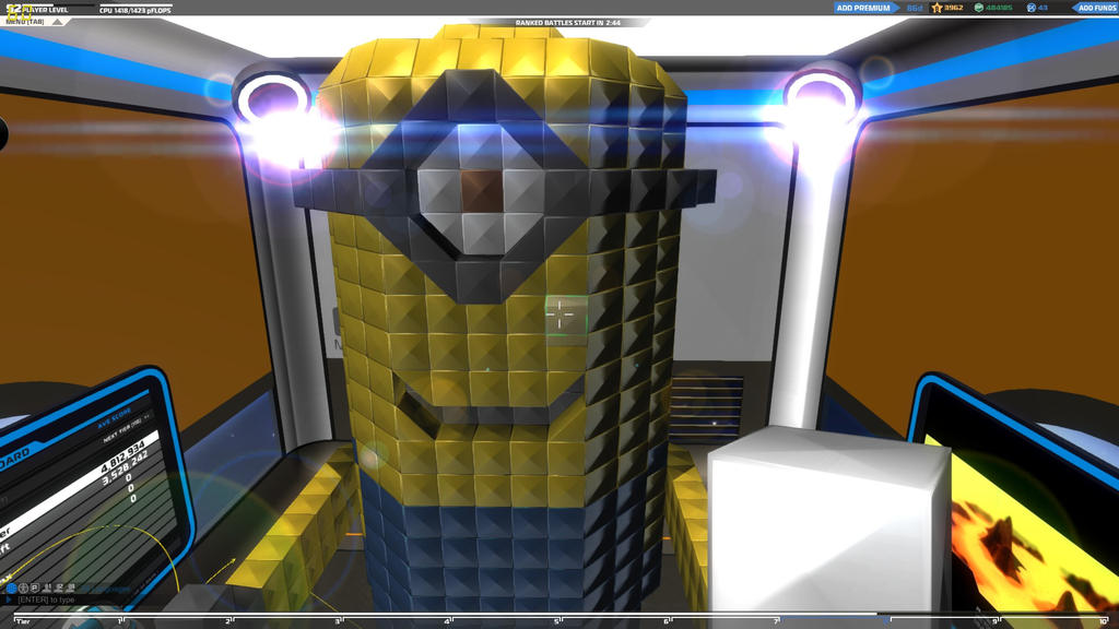 Minion in Robocraft by Pudeljumper on DeviantArt