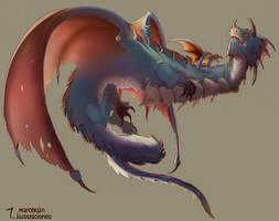 Dragon by marcelosanz