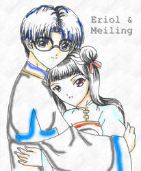 Eriol+Meiling by CLAMP-Club