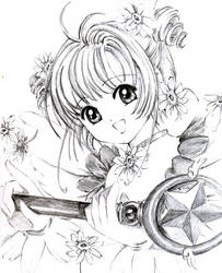 Sakura Kinomoto by CLAMP-Club