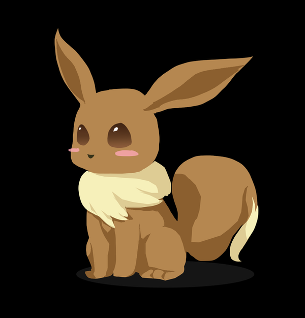 Eevee by canarycharm