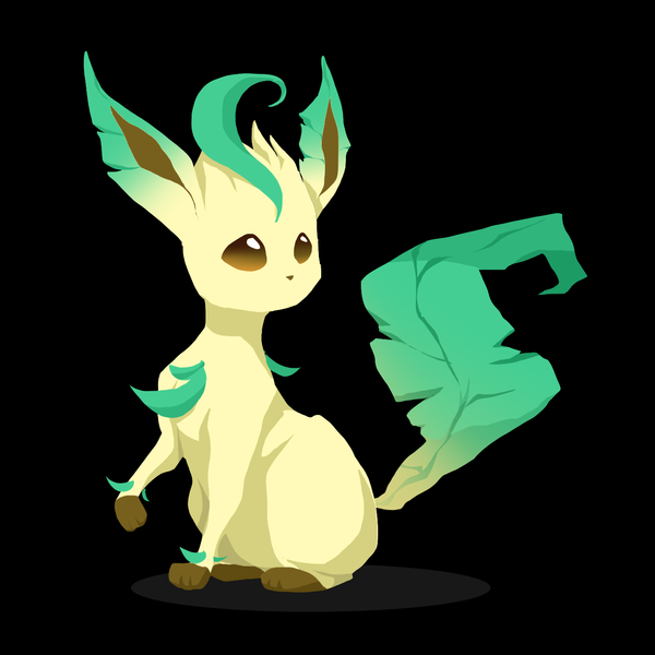 Leafeon by canarycharm