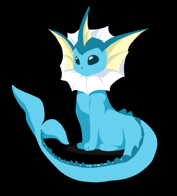 Vaporeon by canarycharm
