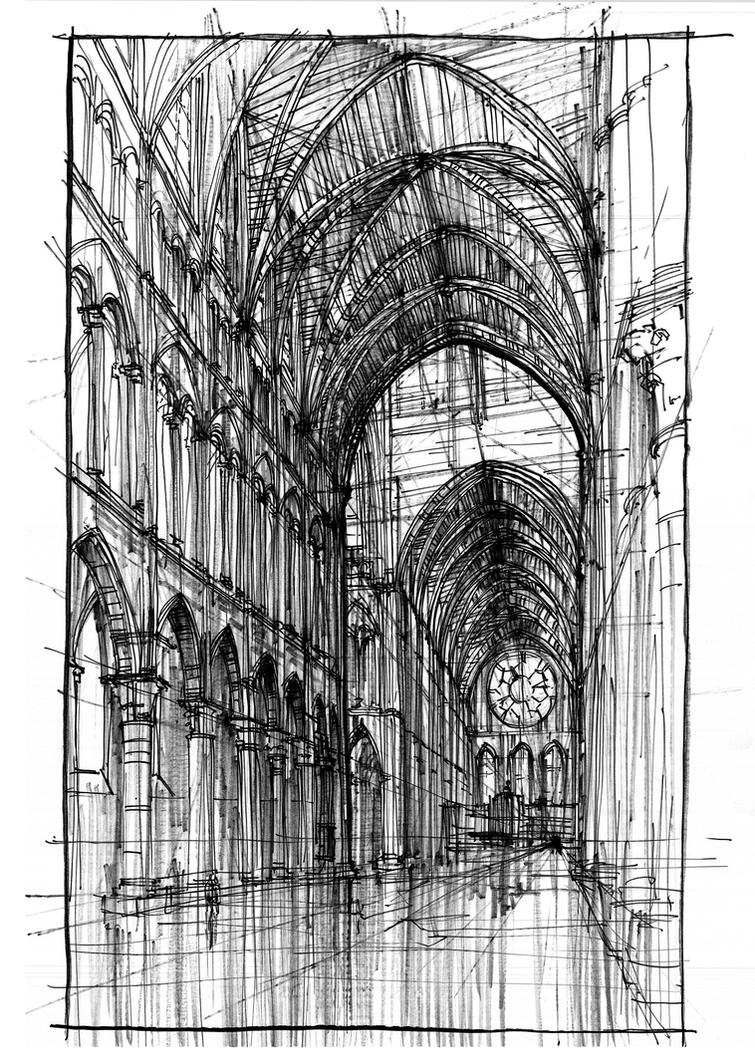 Laon Cathedral by onverra