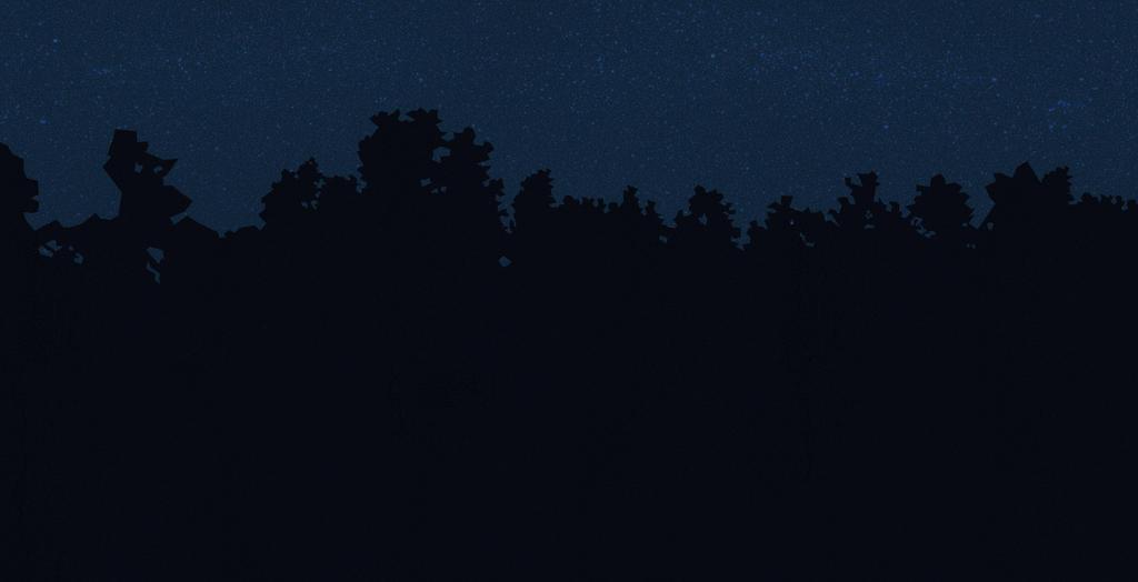 night trees by onverra