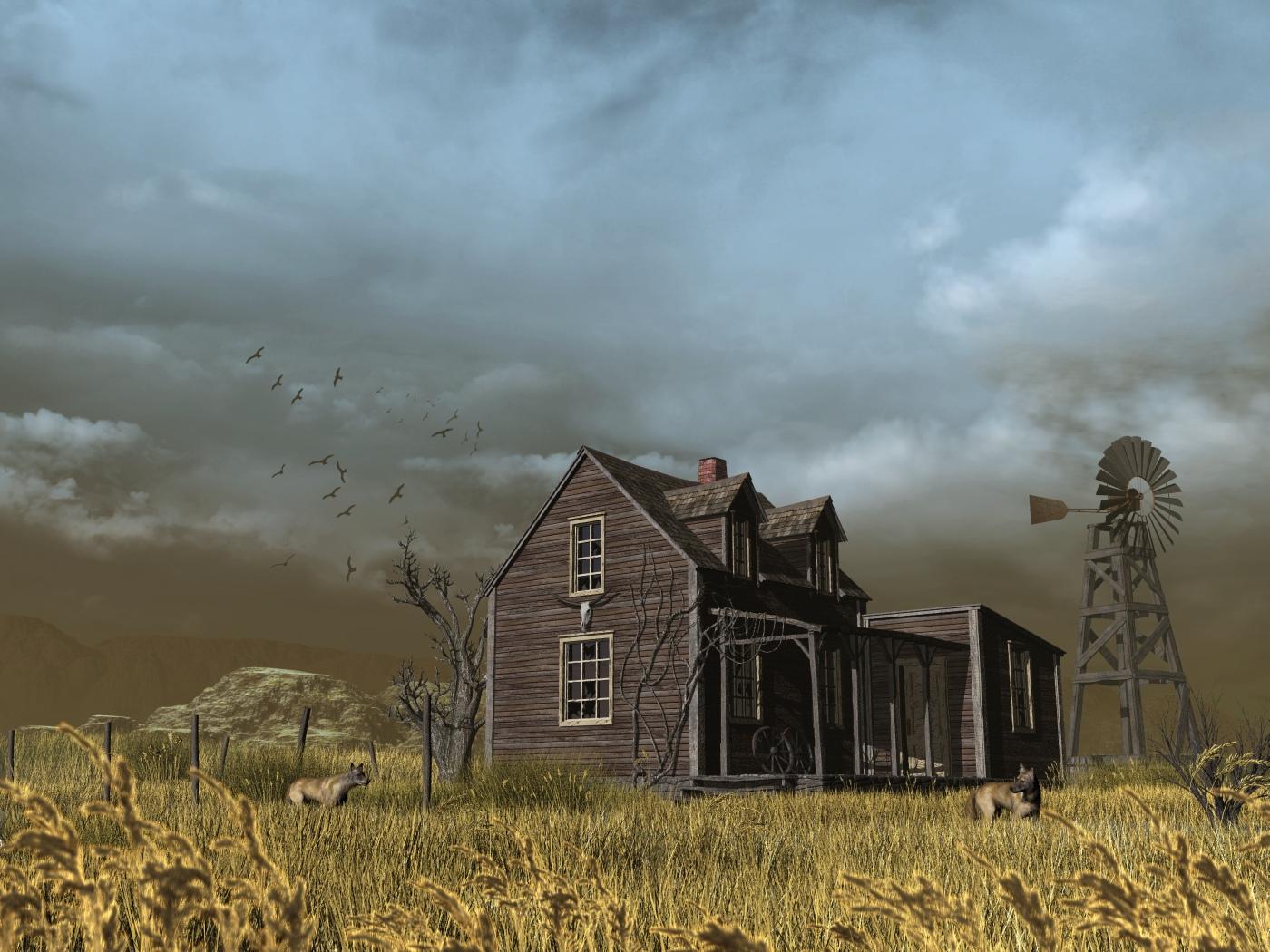 Abandoned Farm by xmas-kitty