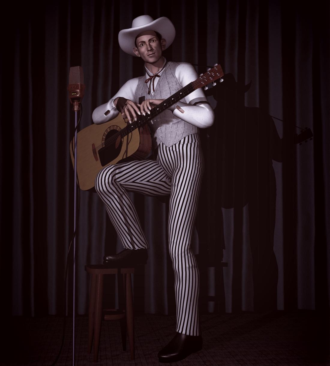 Honky Tonk Cowboy by xmas-kitty