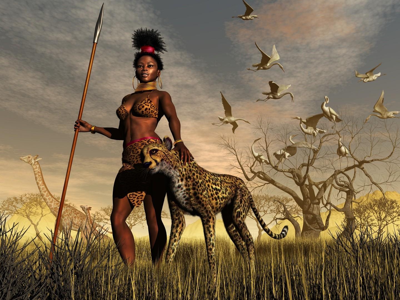 Huntress by xmas-kitty