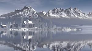 Alpine Landscape by xmas-kitty