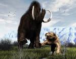 Mammoth Attack by xmas-kitty