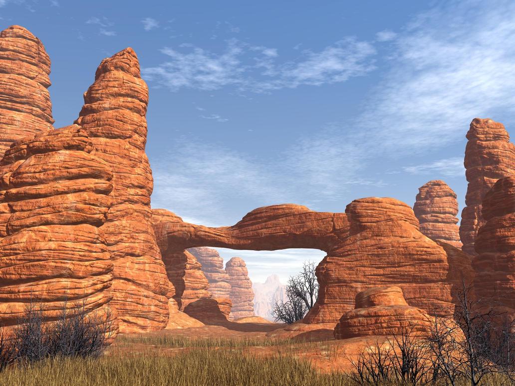 Red Rocks by xmas-kitty