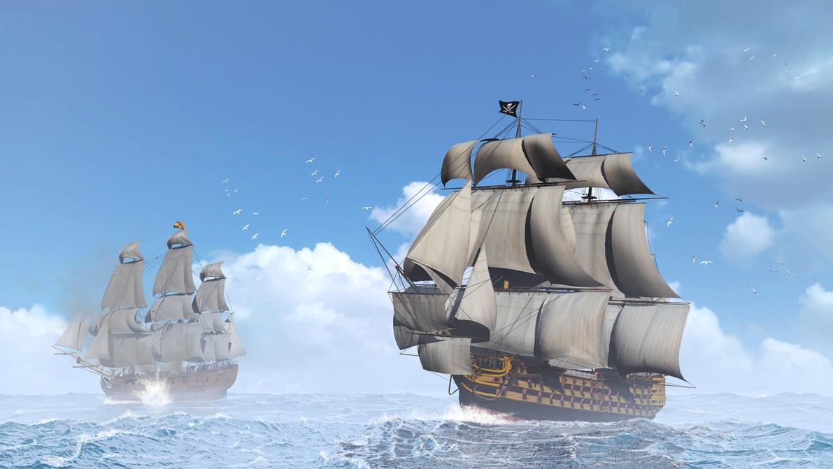 Pirates by xmas-kitty