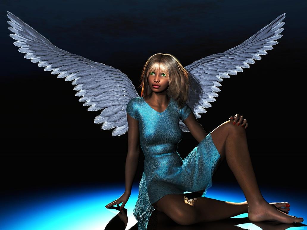 Sad Angel by xmas-kitty