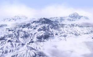 High Mountain Range by xmas-kitty