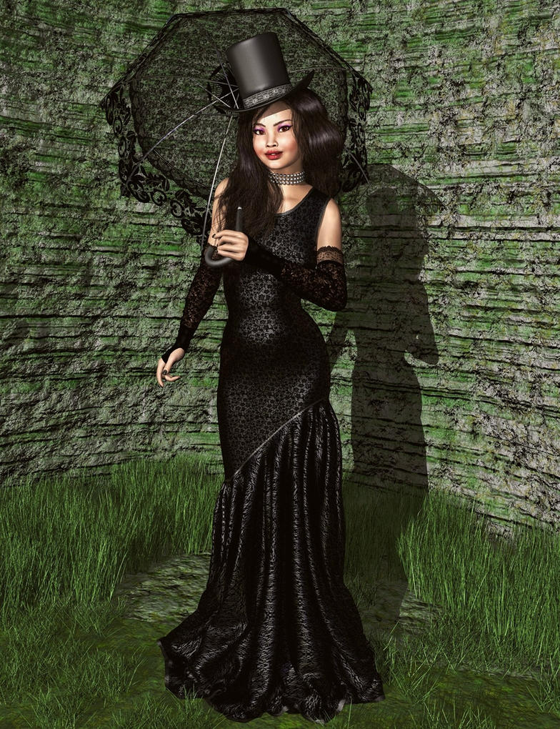 Lady in Black by xmas-kitty
